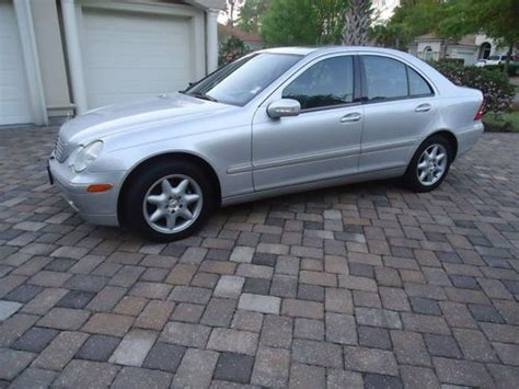how to fix cars 2003 mercedes benz c class electronic throttle control buy used 2003 mercedes c240 silver black 4 door sedan non smoker clean car in myrtle beach