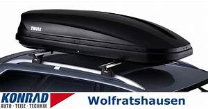 Thule Dachträger Mit Dachbox : dachbox 499 l thule touring 780 konrad gmbh ~ Kayakingforconservation.com Haus und Dekorationen