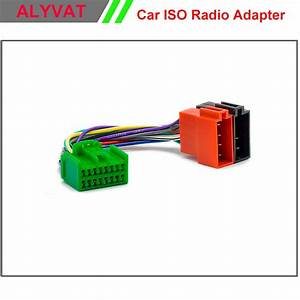 Car Stereo Iso Radio Adapter Connector For Volvo 2004