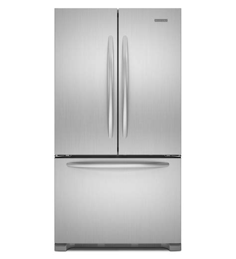 cabinet depth refrigerator kitchenaid 22 cu ft counter depth french door