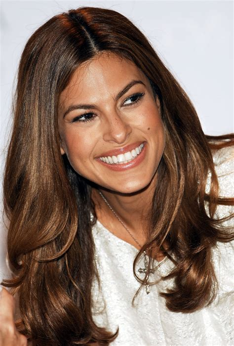 eva mendes hair color hair pinterest
