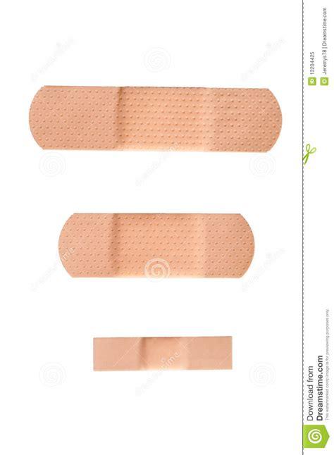 adhesive bandage strips isolated royalty  stock photo
