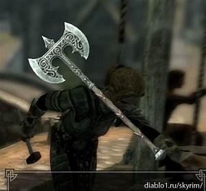 TES V: Skyrim - Двуручное оружие