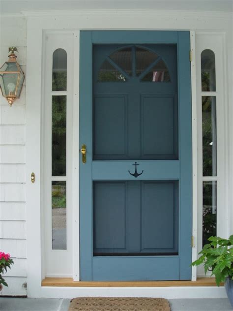 17+ Best Ideas About Painted Screen Doors On Pinterest