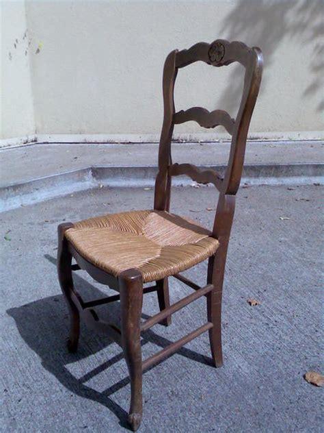 customiser chaise en paille chaises bois paille 1 à 3 chaises possibles
