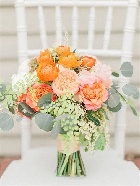 vibrant summer wedding inspiration wedding bouquets