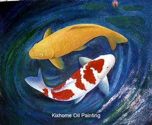 Simple Koi Fish Painting