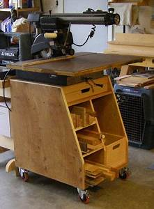 Radial Arm Saw Stand