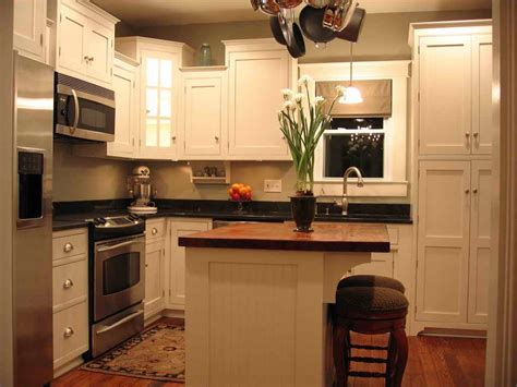 closed kitchen design white flowers on counter top closed two chair on wood 2258