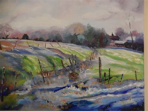 This is really good stuff. Snow Painting, Barn Painting, The First Thaw, Spring Farm ...