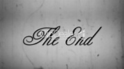 The End with sound: Royalty-free video and stock footage