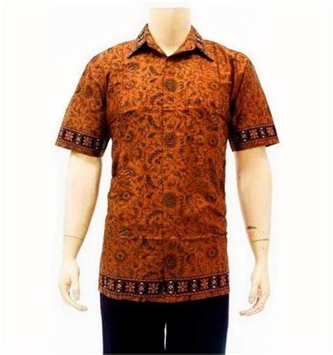 baju batik pria hp177 baju batik pria modern