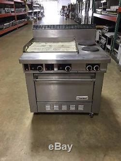 garland commercial range   burners  griddle