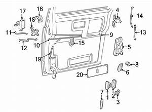 Gmc Safari Sliding Door Latch  Astro  Safari