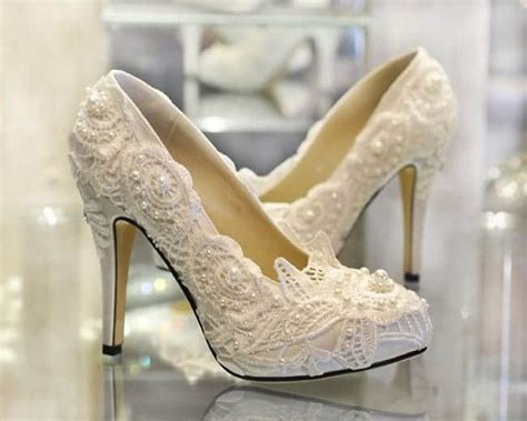 collection  ivory wedding shoes ideas sheideas