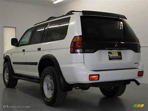 Sport 2000 Gray : 2000 alpine white mitsubishi montero sport ls 4x4 17200467 photo 7 car color ~ Gottalentnigeria.com Avis de Voitures