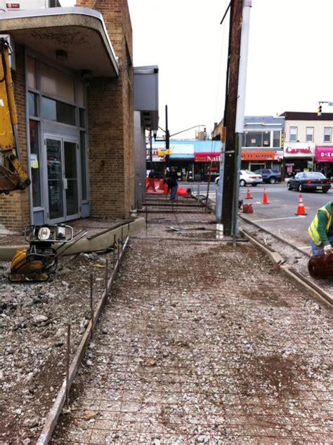 misc sidewalk  curb jobs concrete paving