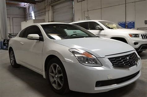 Find Used 2008 Nissan Altima 2 Door Coupe V6 In Rancho