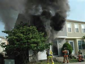 Structure Fire Size Up Smoke
