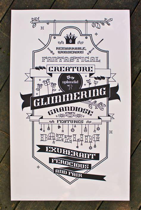 30 creative exles of typography poster designs