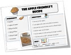 recette de cuisine anglais anglais recettes pour cuisiner avec vos élèves le