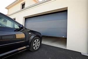 porte de garage sectionnelle france fermetures With france fermeture porte de garage