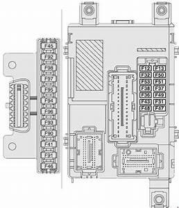 Opel Combo D  2011 - Present  - Fuse Box Diagram