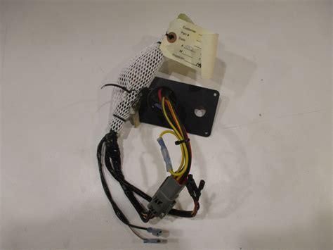 yamaha outboard boat dash panel ignition key switch