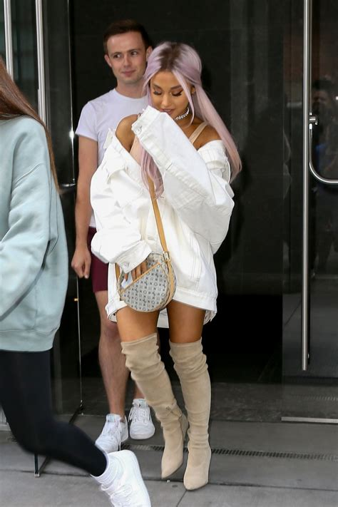 Ariana Grande Out New York Hawtcelebs