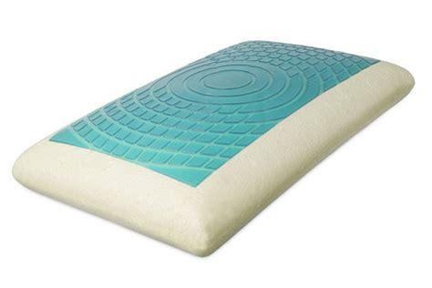memory foam pillow blue chill gel memory foam pillow at gardner white