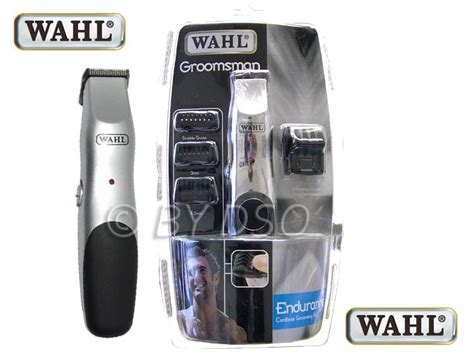Wahl Groomsman Rechargeable Beard & Moustache Trimmer