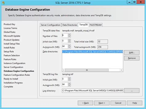 sql server show tables sql clarity sql server 2016 tempdb number of files