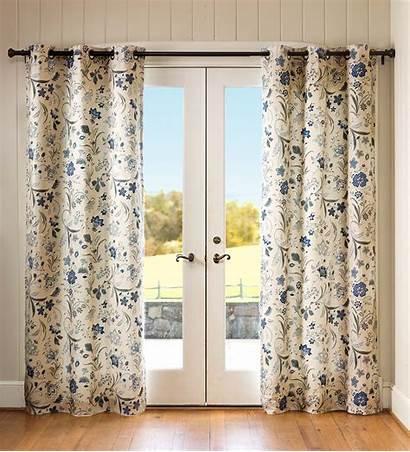 Grommet Curtains Jacobean Curtain Panels Window Thermalogic