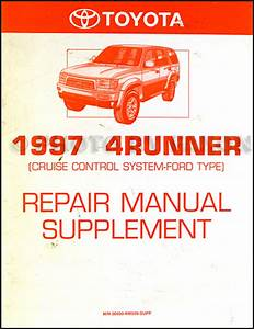 1997 Toyota 4runner Wiring Diagram Manual Original
