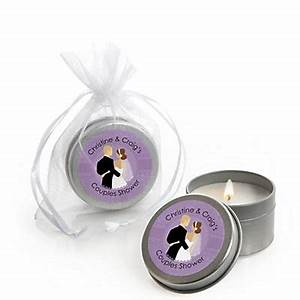 custom wedding couples purple personalized bridal shower With couples wedding shower favors