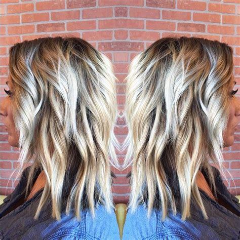 medium length styles perfect  thin hair popular