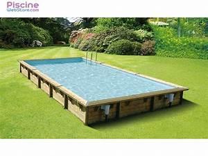 Piscine Bois Ubbink : piscine bois ubbink linea 8 00 x 5 00 x h1 40m ~ Mglfilm.com Idées de Décoration