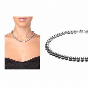 Parure collier et bracelet perles de culture argent et for Collier parure