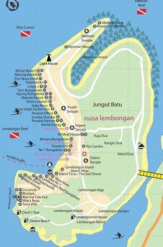lile lembongan au large de sanur etape  itineraire