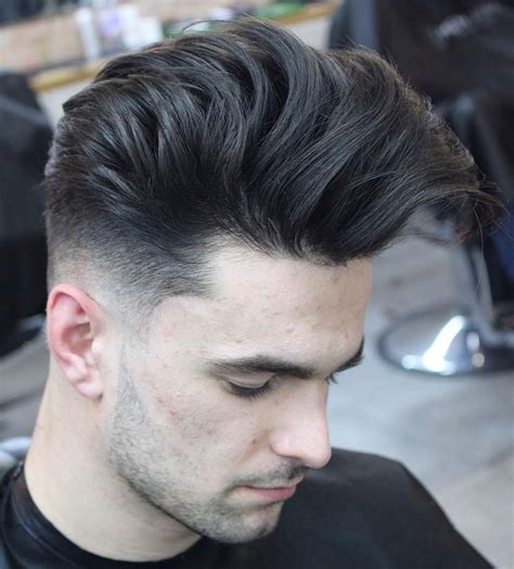 pompadour hairstyles  men