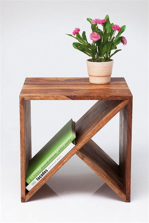 zig zag end table down to basics decorating with cube furniture