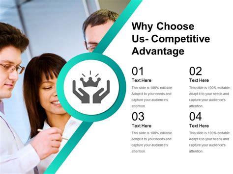choose  competitive advantage powerpoint images