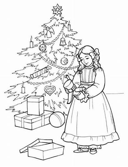 Nutcracker Coloring Pages Printable Christmas