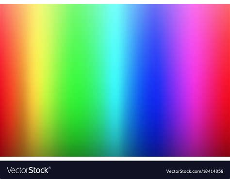blue color spectrum olor spectrum background rainbow colors palette vector image