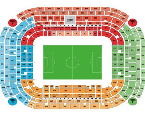 posti a sedere stadio san siro autobus per concerti sito ufficiale eventi in