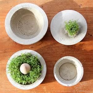Beton Wasserdicht Machen : beton diy gef sse selber machen ~ Michelbontemps.com Haus und Dekorationen