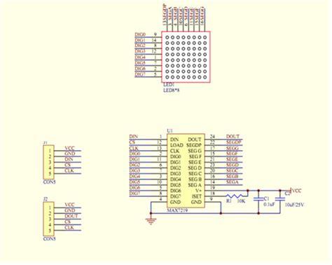 mein paket ein max7219 dot matrix led bausatz arduino hannover