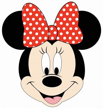 Minnie Mouse Clipart Face Mickey Disney Template