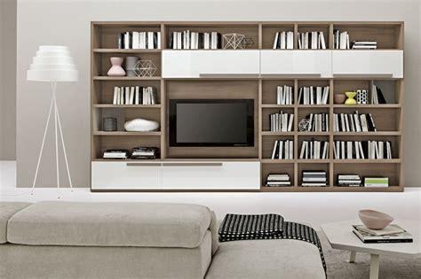 Living Room Bookshelves Modern living room contemporary bookshelves design idea also