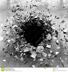 Dunkle Flecken An Der Wand : dunkle gebrochene gebrochene wand in der betonmauer kann als postkarte verwendet werden ~ Watch28wear.com Haus und Dekorationen